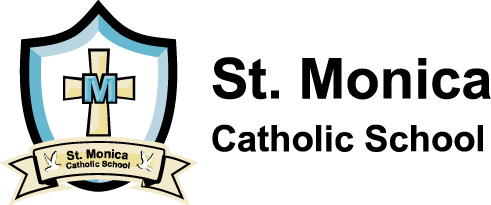 St. Monica Catholic School logo