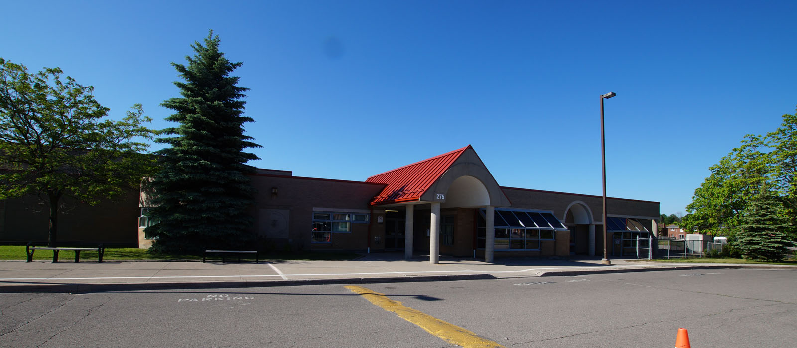 St. Monica Catholic School exterior
